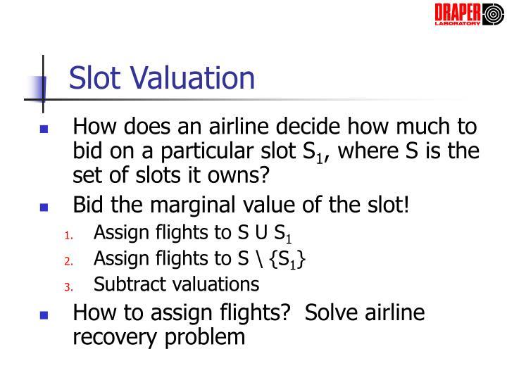 Slot Valuation