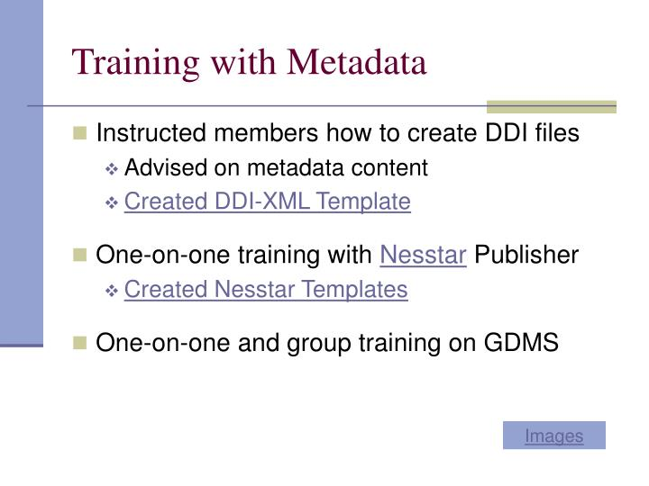 Training with Metadata
