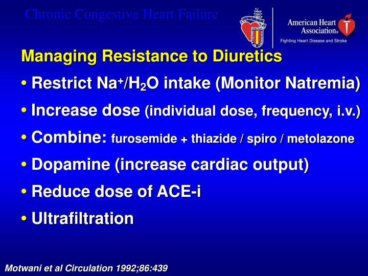 Managing Resistance to Diuretics