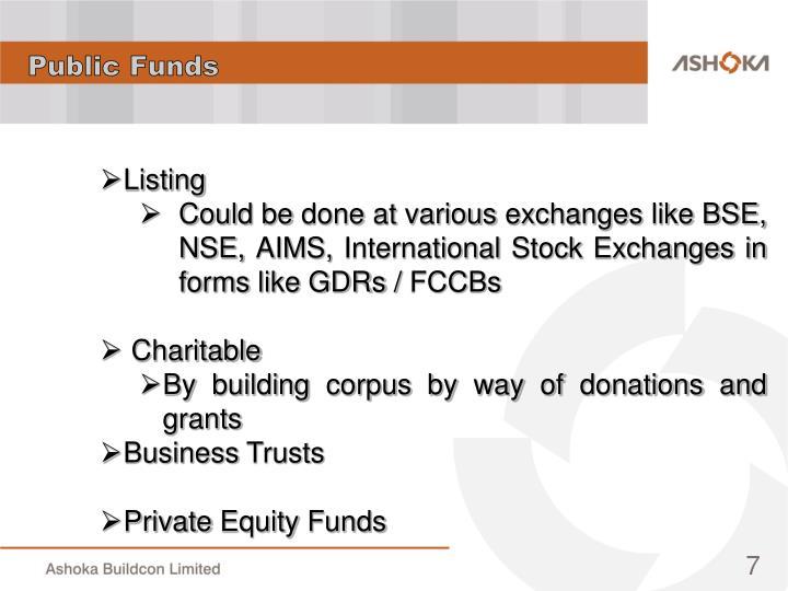 Public Funds