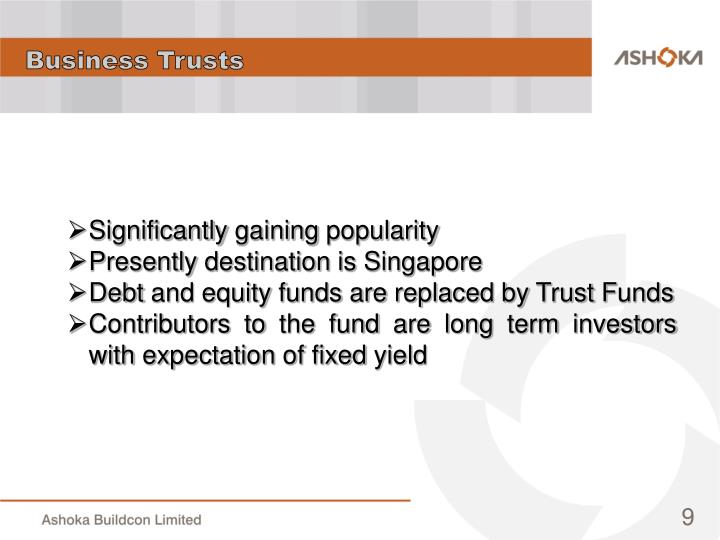 Business Trusts