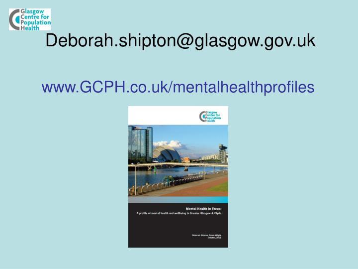 Deborah.shipton@glasgow.gov.uk