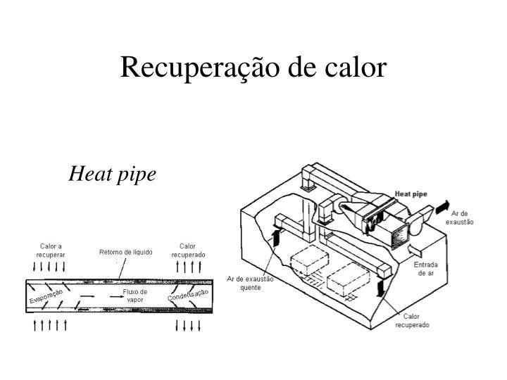 Recuperação de calor