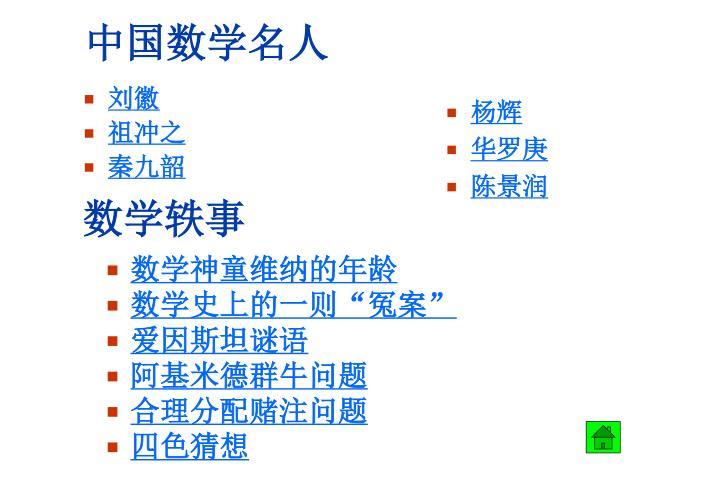 中国数学名人