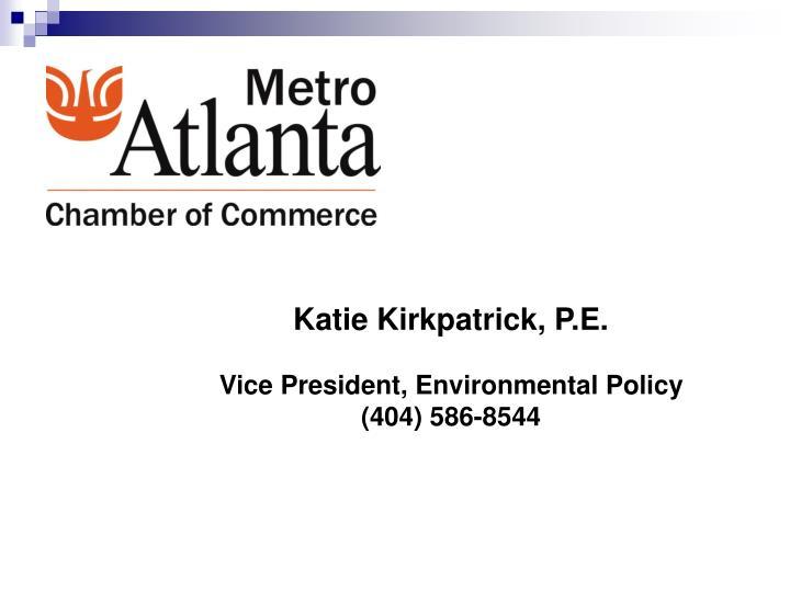 Katie Kirkpatrick, P.E.
