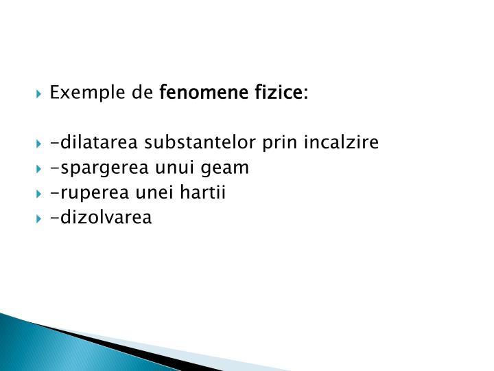 Exemple de