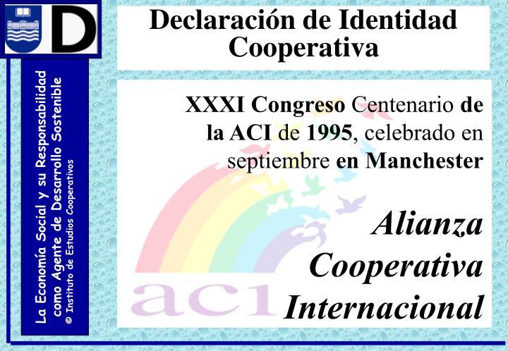 Declaración de Identidad Cooperativa