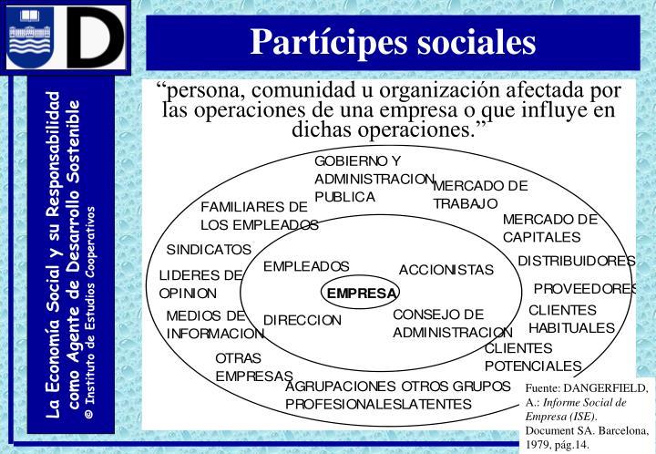 Partícipes sociales
