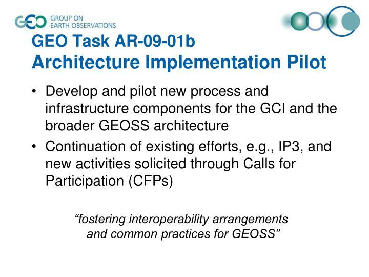 GEO Task AR-09-01b