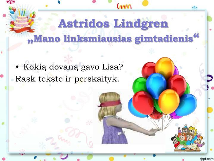 Astridos Lindgren