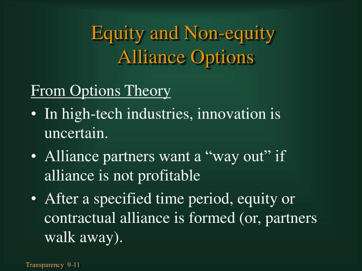 From Options Theory