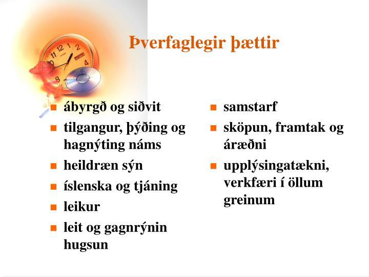 ábyrgð og siðvit