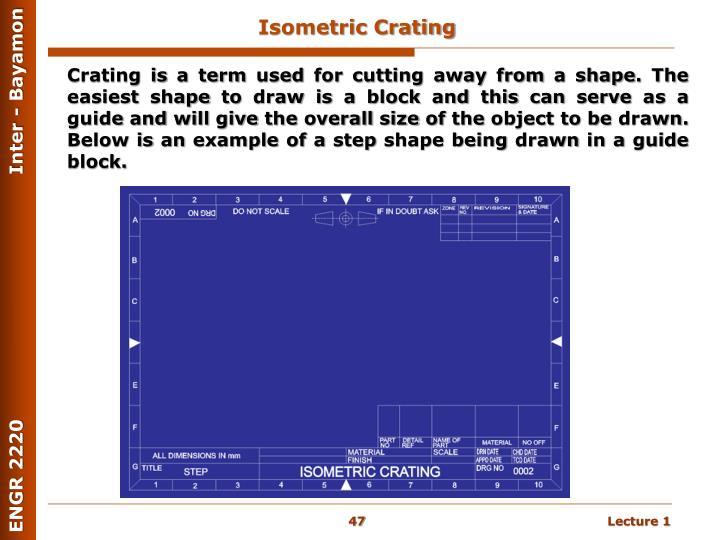 Isometric Crating