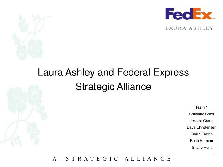 Laura Ashley and Federal Express