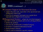 dss continued3