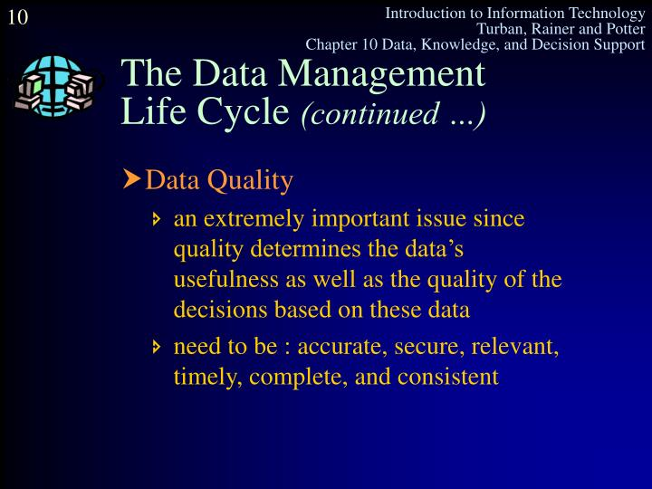 The Data Management
