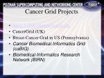 cancer grid projects