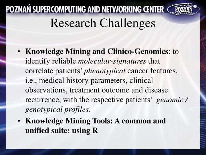 Knowledge Mining and Clinico-Genomics