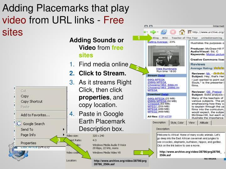 Adding Placemarks that play