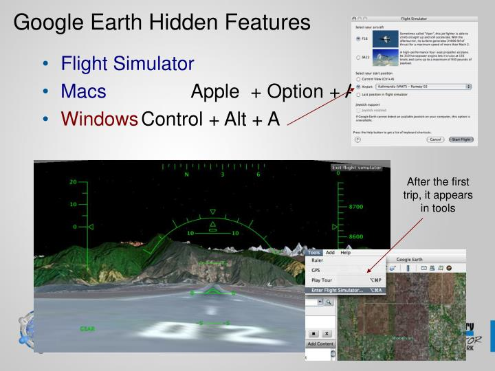 Google Earth Hidden Features