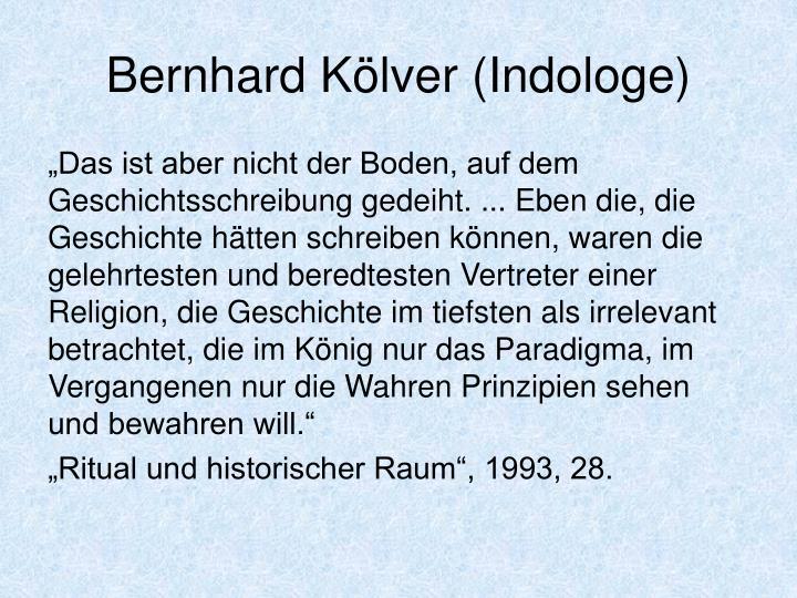 Bernhard Kölver (Indologe)