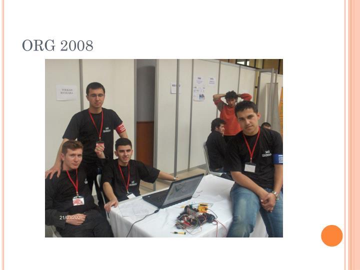 ORG 2008