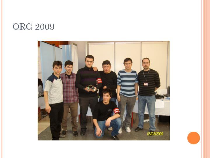 ORG 2009