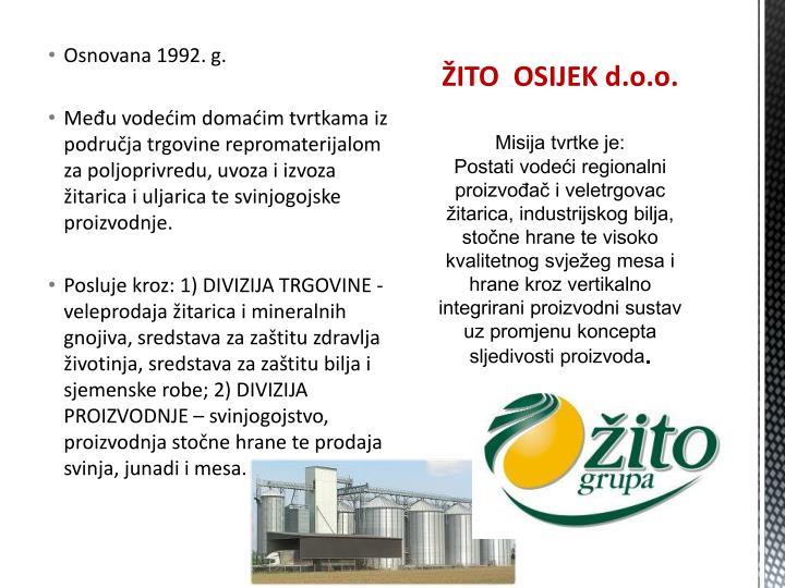 Osnovana 1992. g.