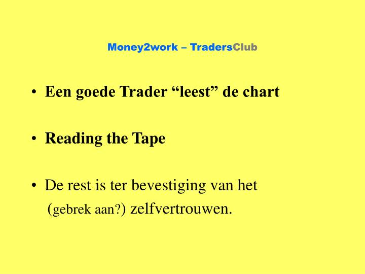 Money2work – Traders