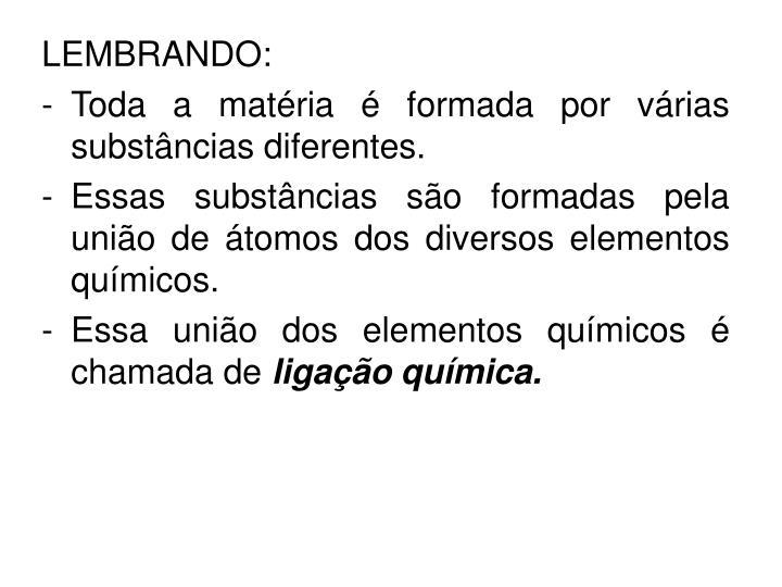 LEMBRANDO: