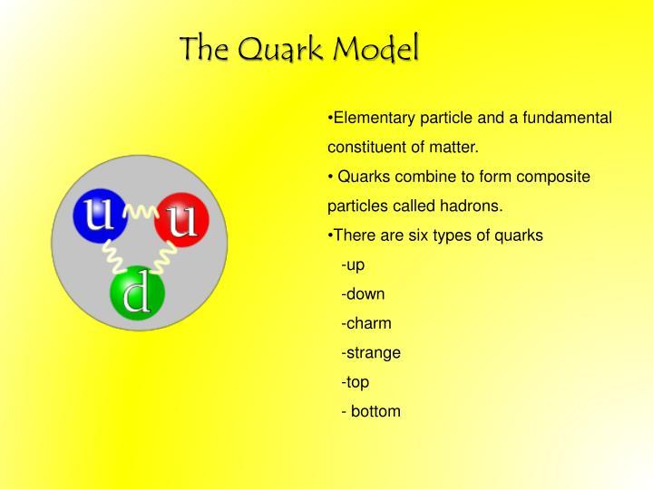 The Quark Model
