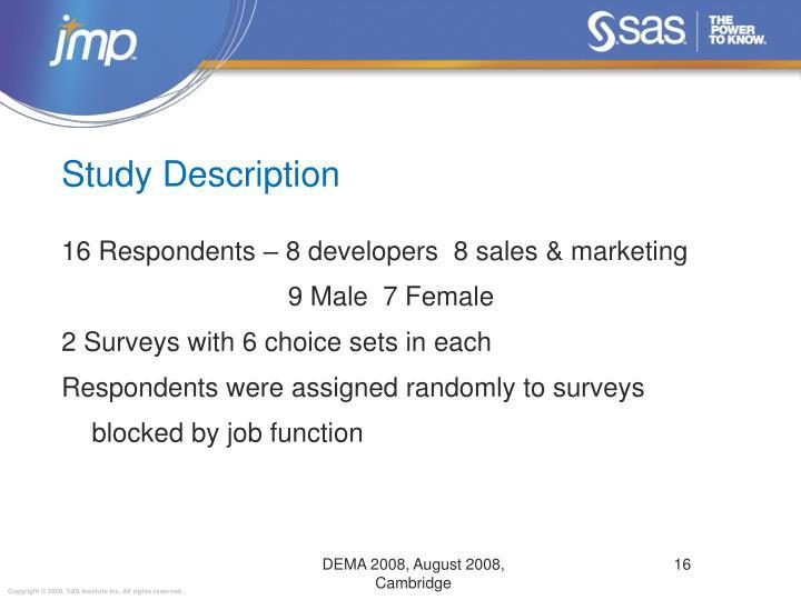 Study Description