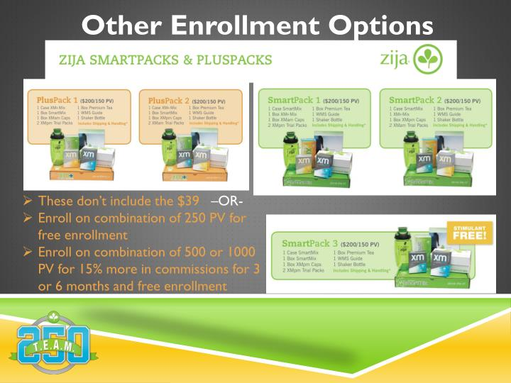 Other Enrollment Options