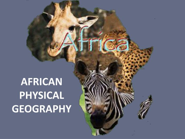 African physical geography