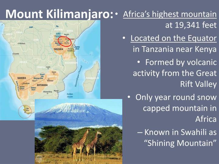 Mount Kilimanjaro: