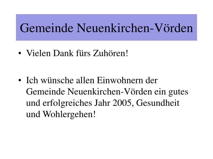 Gemeinde Neuenkirchen-Vörden