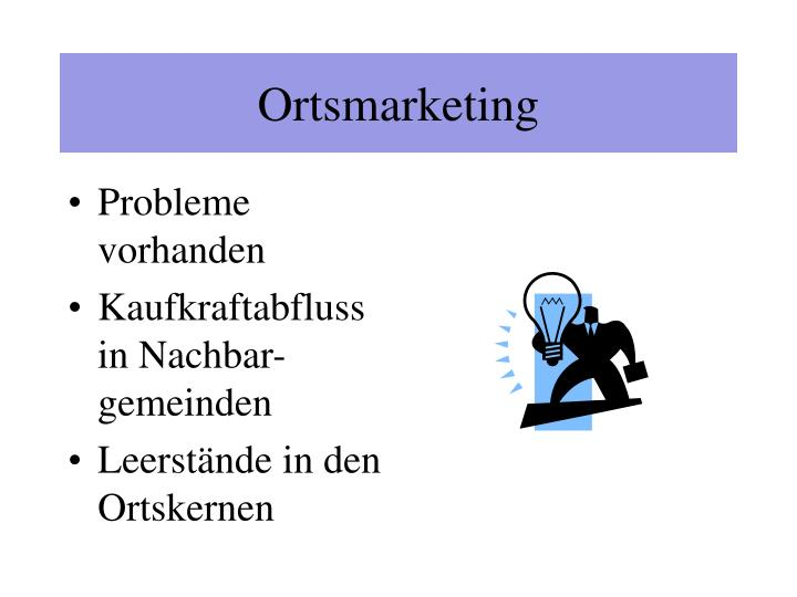 Ortsmarketing