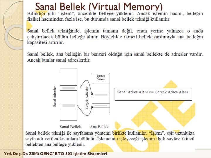 Sanal Bellek (