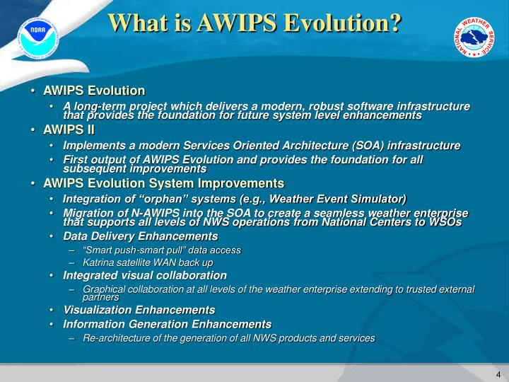 What is AWIPS Evolution?