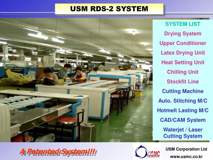 USM RDS-2 SYSTEM