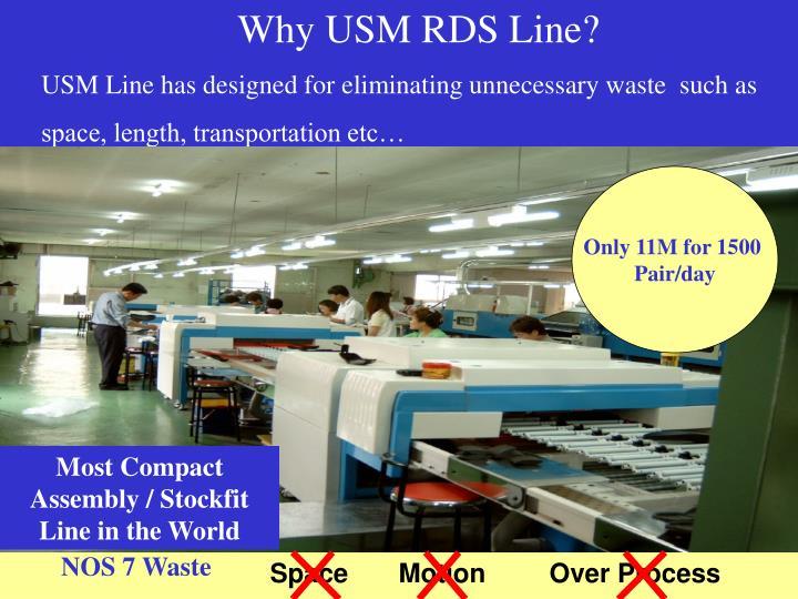Why USM RDS Line?