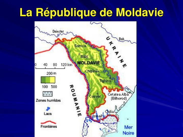 La République de Moldavie