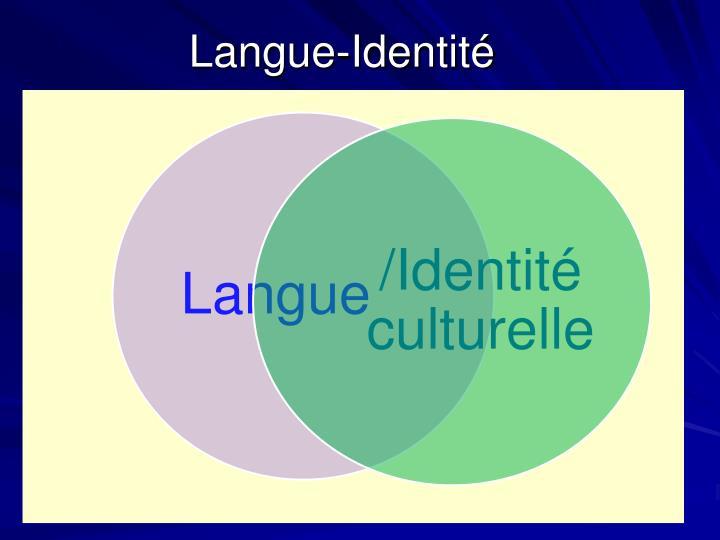 Langue-Identité
