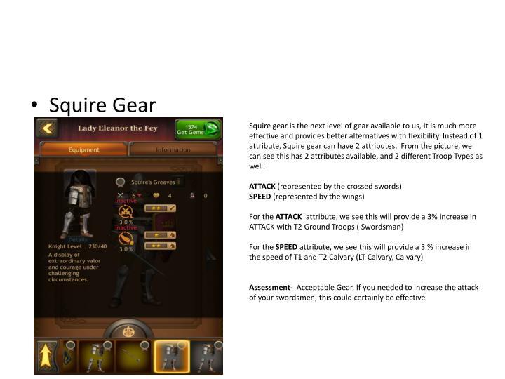 Squire Gear