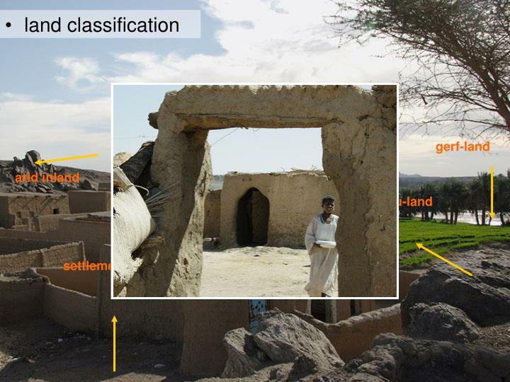 land classification