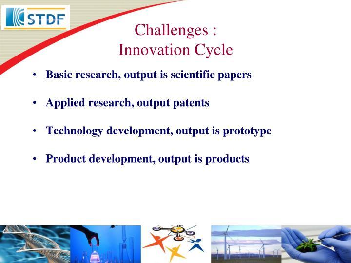 Challenges :