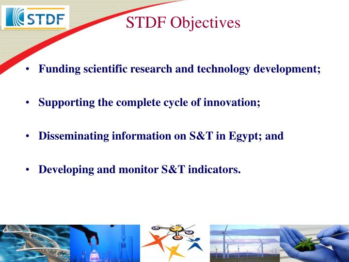 STDF Objectives