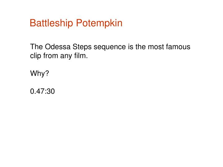 Battleship Potempkin