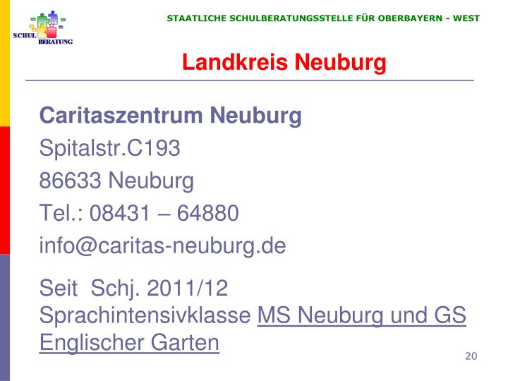 Landkreis Neuburg