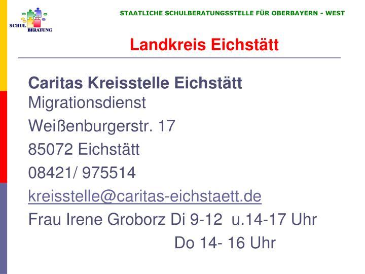 Caritas Kreisstelle Eichstätt